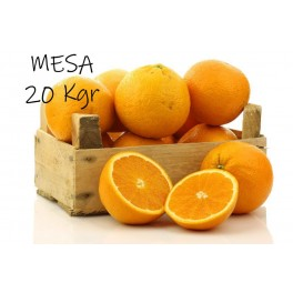 Caja de 20 kgr. de Naranja de Valencia