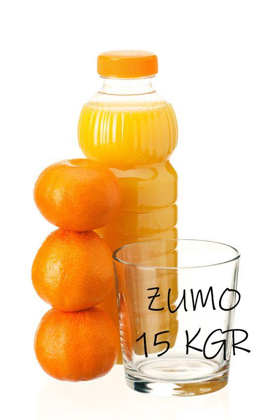 Naranjas de zumo, 15 kgr