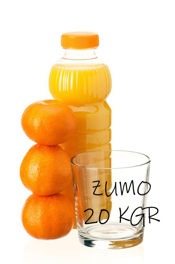 20 kgr de Naranja de zumo