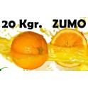 Caja de 15 kgr de ZUMO - Naranja de Valencia