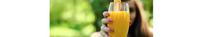 Zumo de kaki+naranja+mandarina